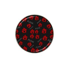 Anarchy Pattern Hat Clip Ball Marker (10 Pack) by Valentinaart