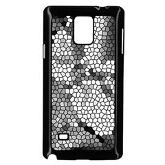 Mosaic Stones Glass Pattern Samsung Galaxy Note 4 Case (black)