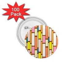 Retro Blocks 1 75  Buttons (100 Pack)  by Nexatart
