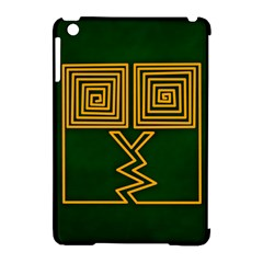 One Stroke Owl Apple Ipad Mini Hardshell Case (compatible With Smart Cover) by Nexatart