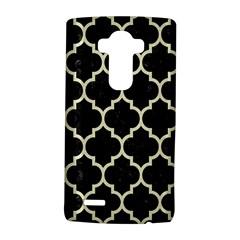 Tile1 Black Marble & Beige Linen Lg G4 Hardshell Case by trendistuff
