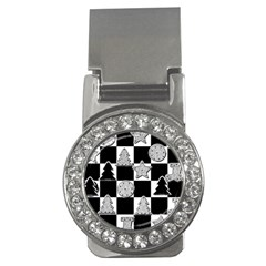 Xmas Checker Money Clips (cz)  by Nexatart