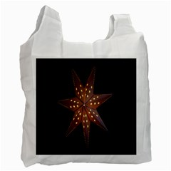 Star Light Decoration Atmosphere Recycle Bag (One Side) by Nexatart