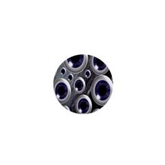 Eyeballs Pattern 1  Mini Buttons by Nexatart