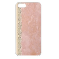 Guestbook Background Victorian Apple Iphone 5 Seamless Case (white) by Nexatart