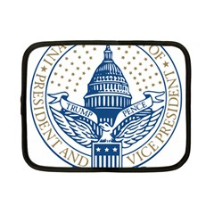 Presidential Inauguration USA Republican President Trump Pence 2017 Logo Netbook Case (Small)  by yoursparklingshop