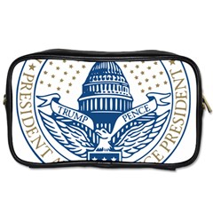 Presidential Inauguration USA Republican President Trump Pence 2017 Logo Toiletries Bags 2-Side by yoursparklingshop