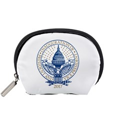 Presidential Inauguration USA Republican President Trump Pence 2017 Logo Accessory Pouches (Small)  by yoursparklingshop