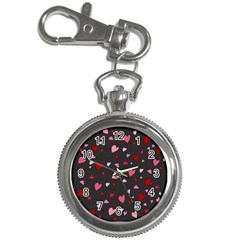 Hearts pattern Key Chain Watches