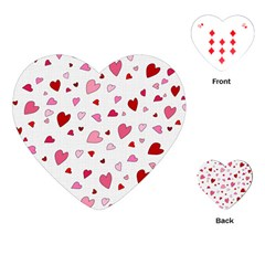Valentine s Day Hearts Playing Cards (heart)  by Valentinaart