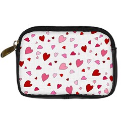 Valentine s Day Hearts Digital Camera Cases by Valentinaart