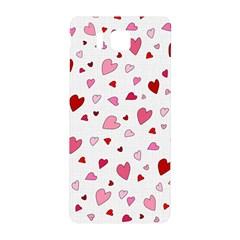 Valentine s day hearts Samsung Galaxy Alpha Hardshell Back Case by Valentinaart