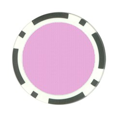 Pink Texture Poker Chip Card Guard (10 Pack) by Valentinaart