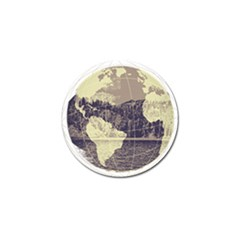River Globe Golf Ball Marker by MTNDesignco