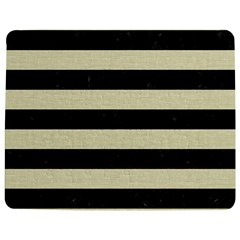 Stripes2 Black Marble & Beige Linen Jigsaw Puzzle Photo Stand (rectangular) by trendistuff