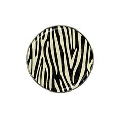 Skin4 Black Marble & Beige Linen (r) Hat Clip Ball Marker (10 Pack) by trendistuff