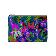 Abstract Digital Art  Cosmetic Bag (medium)  by Nexatart