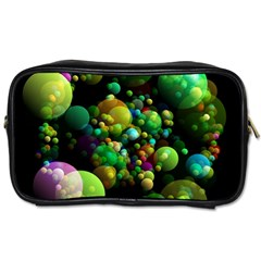 Abstract Balls Color About Toiletries Bags 2 Side by Nexatart