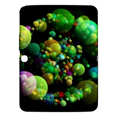 Abstract Balls Color About Samsung Galaxy Tab 3 (10.1 ) P5200 Hardshell Case  by Nexatart