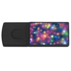 Abstract Background Graphic Design USB Flash Drive Rectangular (4 GB) by Nexatart