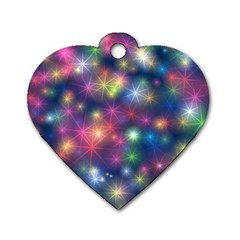 Abstract Background Graphic Design Dog Tag Heart (one Side) by Nexatart