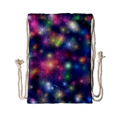 Abstract Background Graphic Design Drawstring Bag (small) by Nexatart
