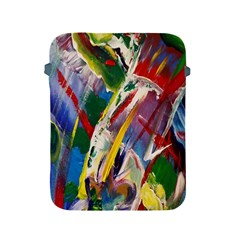 Abstract Art Art Artwork Colorful Apple Ipad 2/3/4 Protective Soft Cases by Nexatart
