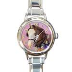 KTCwatch - Round Italian Charm Watch
