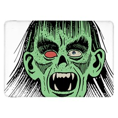 Zombie Face Vector Clipart Samsung Galaxy Tab 8 9  P7300 Flip Case by Nexatart
