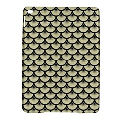Scales3 Black Marble & Beige Linen (r) Apple Ipad Air 2 Hardshell Case by trendistuff