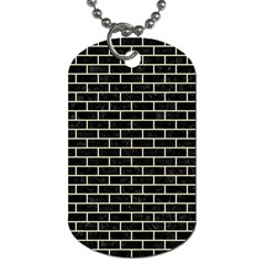 BRK1 BK-MRBL BG-LIN Dog Tag (Two Sides)
