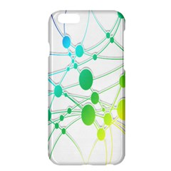 Network Connection Structure Knot Apple Iphone 6 Plus/6s Plus Hardshell Case by Nexatart