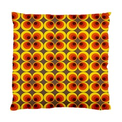 Seventies Hippie Psychedelic Circle Standard Cushion Case (one Side) by Nexatart