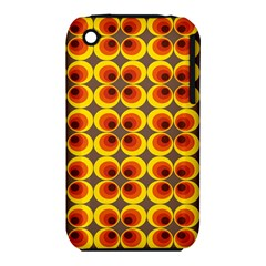 Seventies Hippie Psychedelic Circle Iphone 3s/3gs by Nexatart