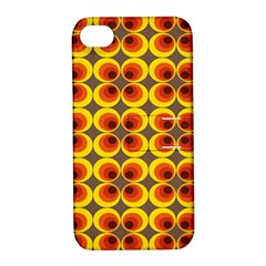 Seventies Hippie Psychedelic Circle Apple Iphone 4/4s Hardshell Case With Stand by Nexatart