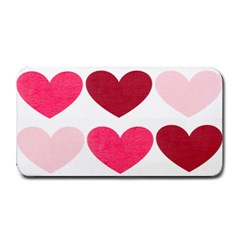Valentine S Day Hearts Medium Bar Mats by Nexatart