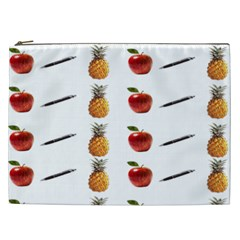 Ppap Pen Pineapple Apple Pen Cosmetic Bag (xxl)  by Nexatart