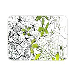 Floral Pattern Background Double Sided Flano Blanket (mini)  by Nexatart
