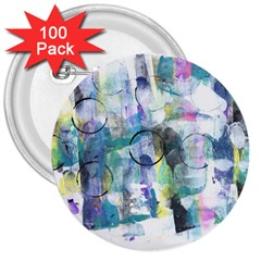 Background Color Circle Pattern 3  Buttons (100 Pack)  by Nexatart
