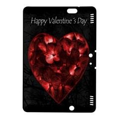 Dark Elegant Valentine Day Poster Kindle Fire Hdx 8 9  Hardshell Case by dflcprints