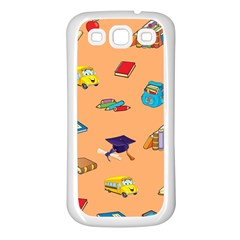 School Rocks! Samsung Galaxy S3 Back Case (white) by athenastemple