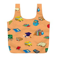 School Rocks! Full Print Recycle Bags (l)  by athenastemple