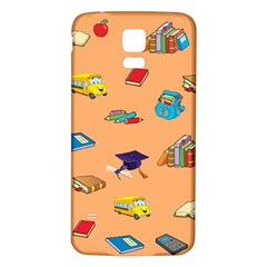 School Rocks! Samsung Galaxy S5 Back Case (white) by athenastemple