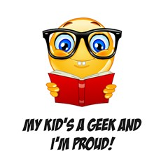Geek Kid Shower Curtain 60  X 72  (medium)  by athenastemple