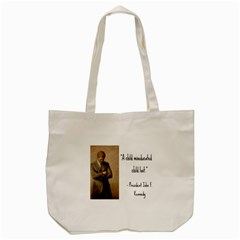 A Child Is Miseducated    Tote Bag (cream) by athenastemple