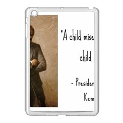 A Child Is Miseducated    Apple Ipad Mini Case (white) by athenastemple