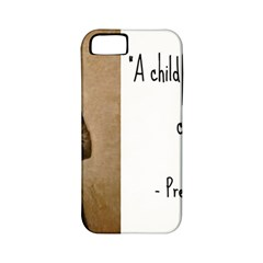A Child Is Miseducated    Apple Iphone 5 Classic Hardshell Case (pc+silicone) by athenastemple