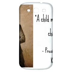A Child Is Miseducated    Samsung Galaxy S3 S Iii Classic Hardshell Back Case by athenastemple
