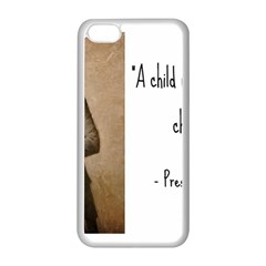A Child Is Miseducated    Apple Iphone 5c Seamless Case (white) by athenastemple