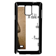 A Child Is Miseducated    Samsung Galaxy Note 4 Case (black) by athenastemple